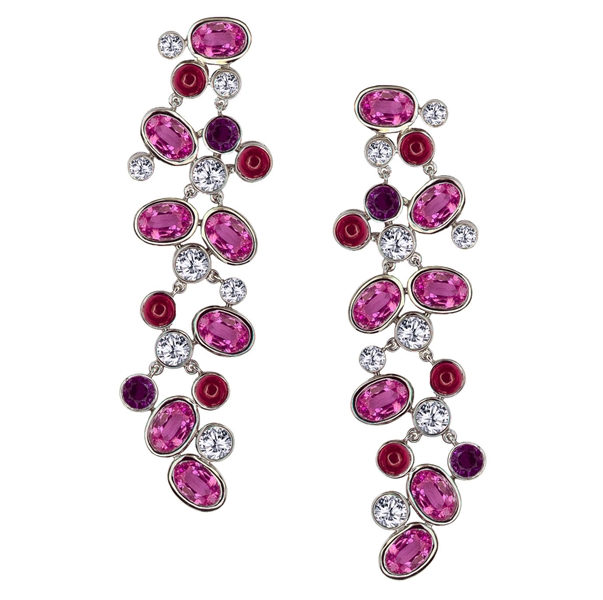 Gumuchian Bahia bezel gemstone earrings