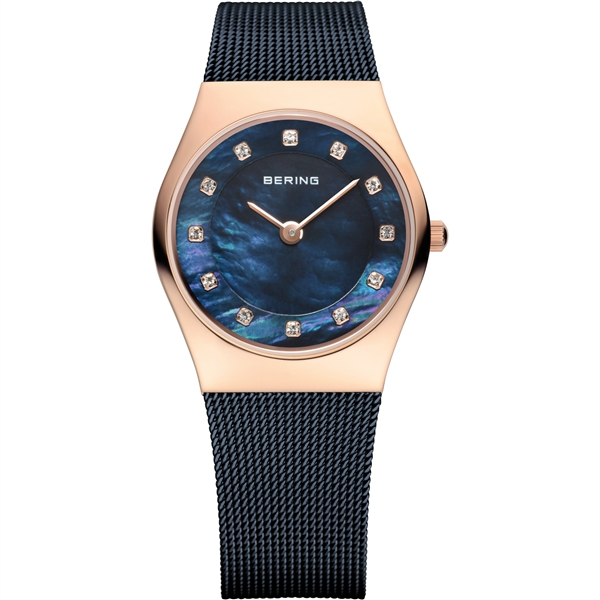 Bering Time deep blue ladies' watch