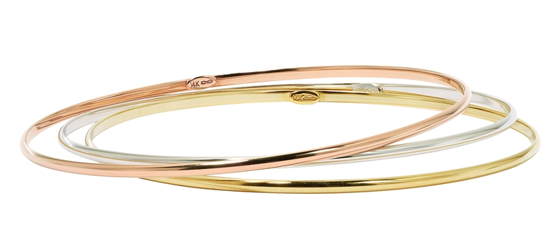 Carla/Nancy B slim stacking bangles
