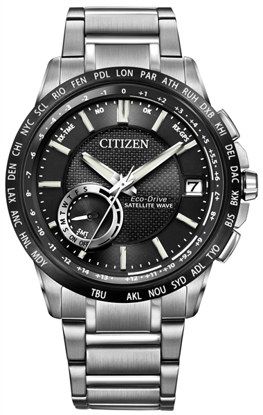 Citizen Satellite Wave World Time GPS Watch