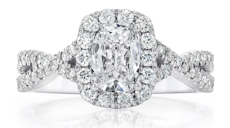 Maiden Lane Ella diamond engagement ring