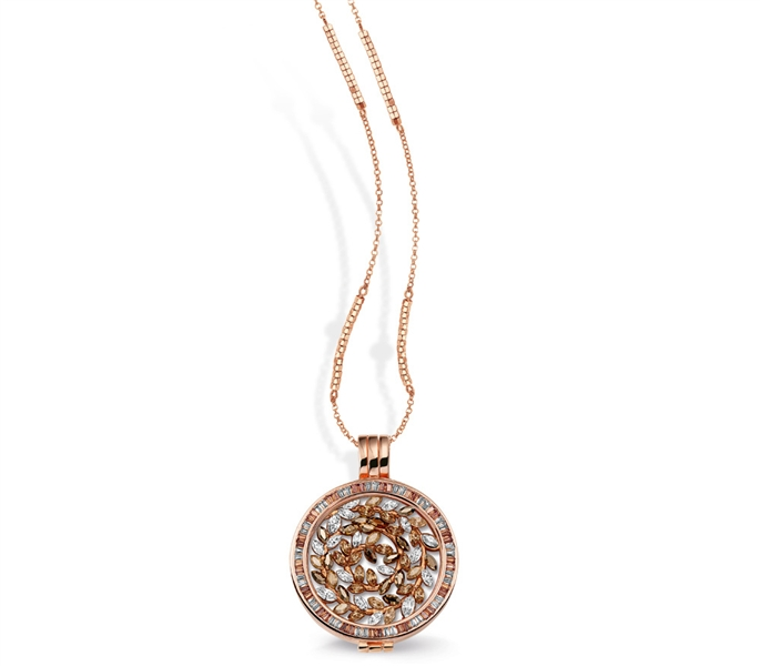 Mi Moneda Grace pendant with Rosa Moneda