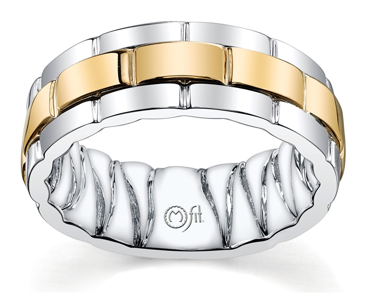 Merit Diamond Mifit collection two-tone band
