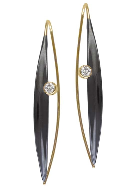 Ed Levin Jewelry Willow Wink earrings