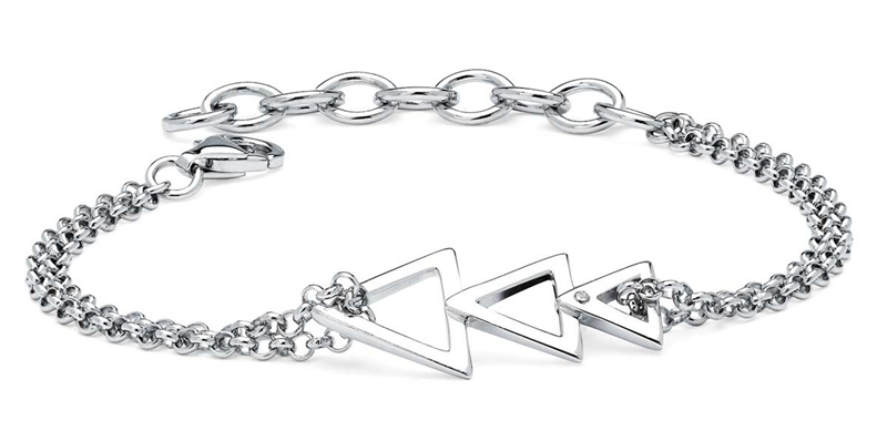 Ostbye Diva Diamonds chevron bracelet