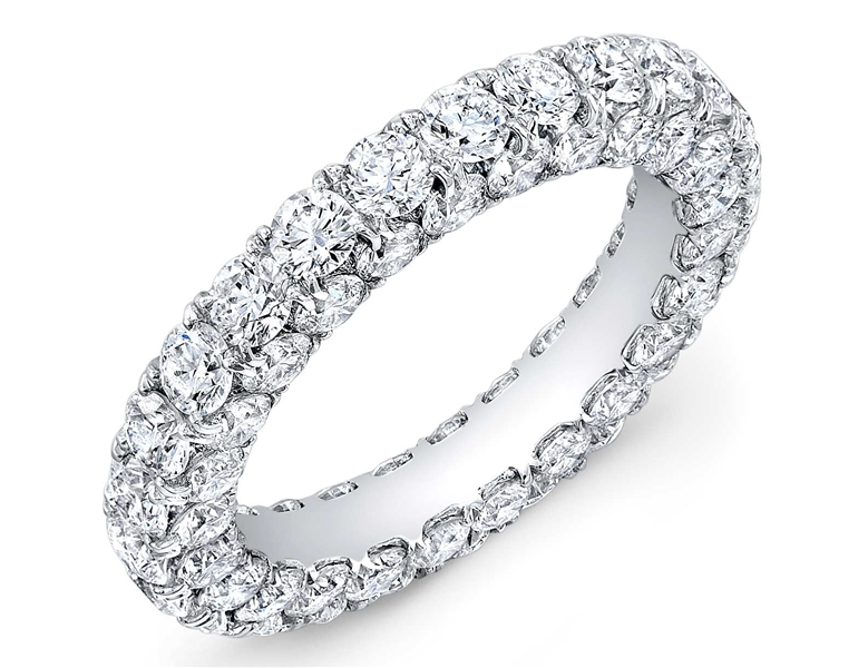 Amden Jewelry all around diamond eternity band