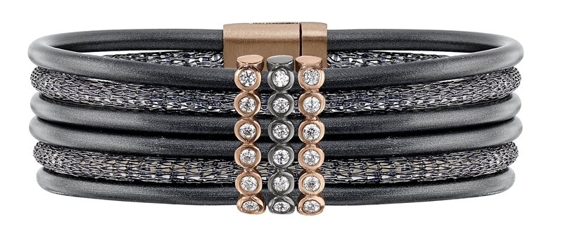 Henderson Collection by Lecil Luca collection neoprene bracelet