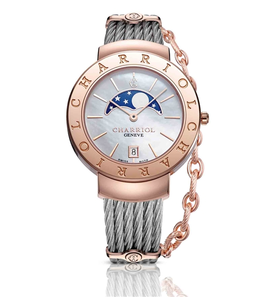 Charriol St. Tropez 35 collection watch