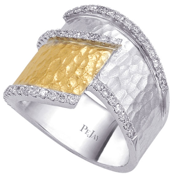 Pe Jay Creations Ashley Boutique two-tone diamond ring