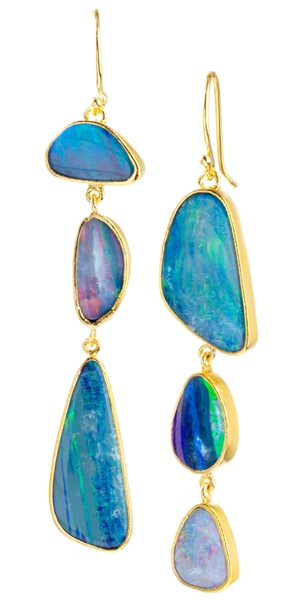 Nina Nguyen Aphrodite opal earrings