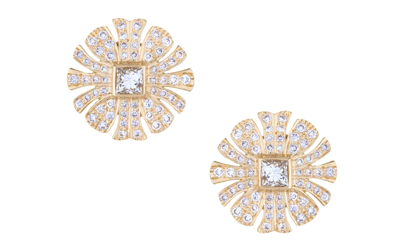 Sethi Couture Heritage collection stud earrings