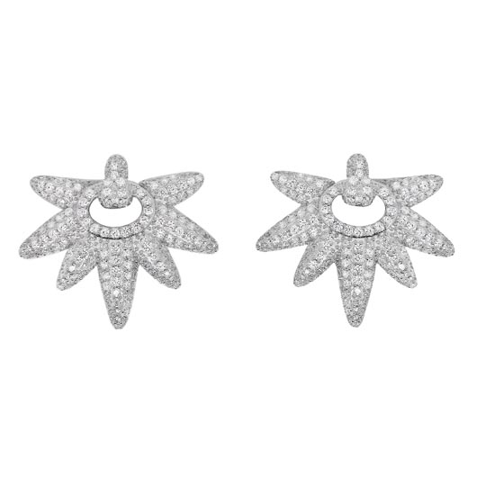 APM Monaco stud and earring jacket-type earring unveiled at Baselworld 2015