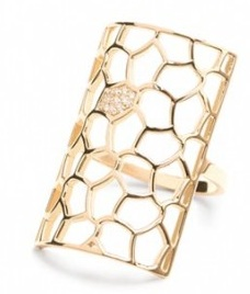 Ana Bernice ring by Melissa Kaye Jewelry