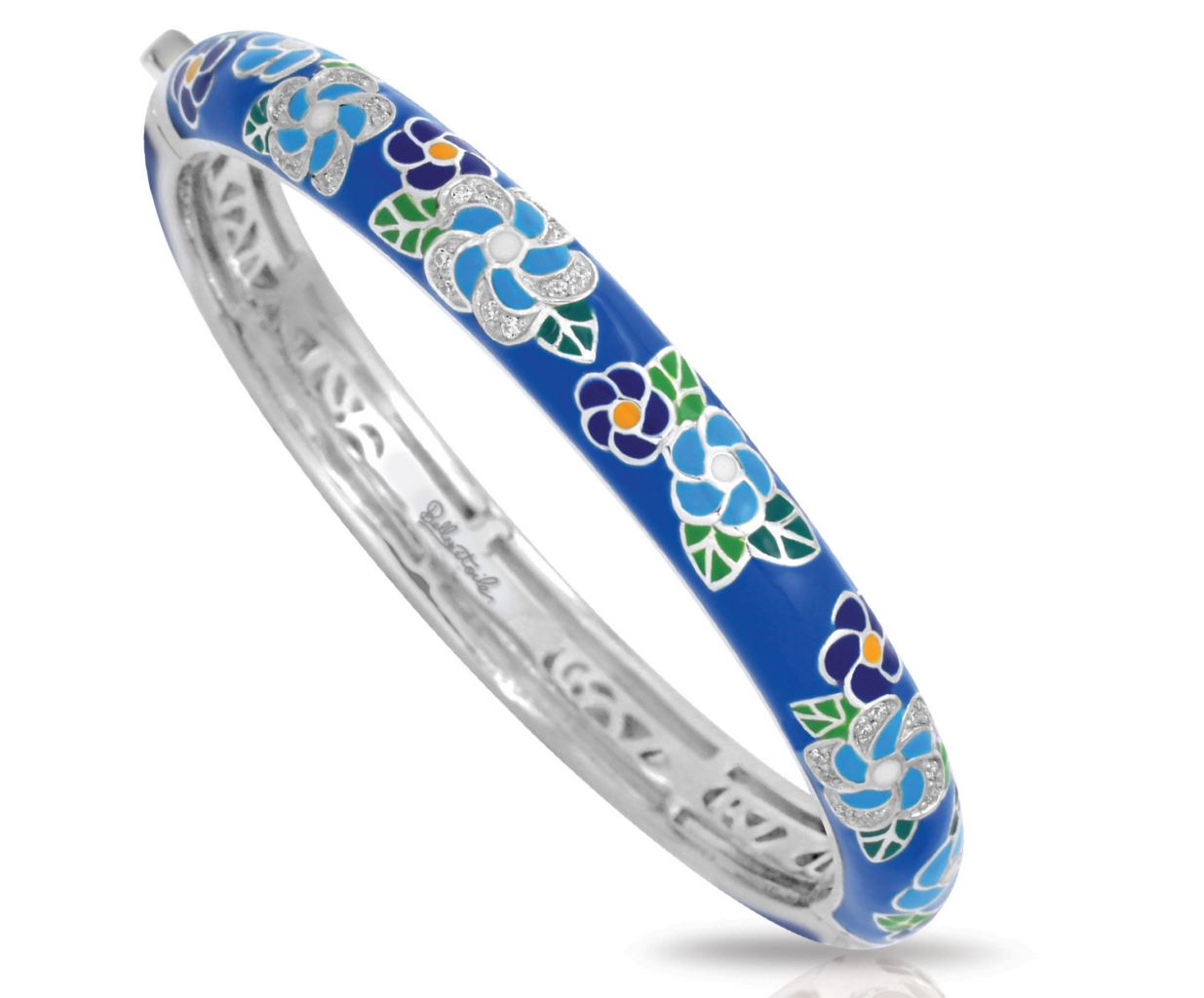 Belle Etoile Melia collection blue bangle bracelet