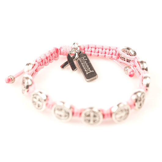 My Saint My Hero breast cancer bracelet