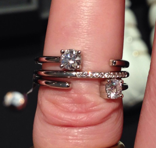New nontraditional entry-level bridal rings from Mark Patterson