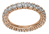 Gold band with diamonds from Chopard worn by Joanne Froggatt to the 2014 Emmys
