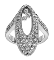 Diamond ring from Chopard worn by Keke Palmer to the 2014 Emmys