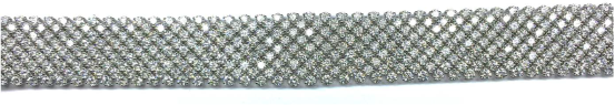 Diamond bracelet from Chopard worn by Debra Messing to the 2014 Emmys
