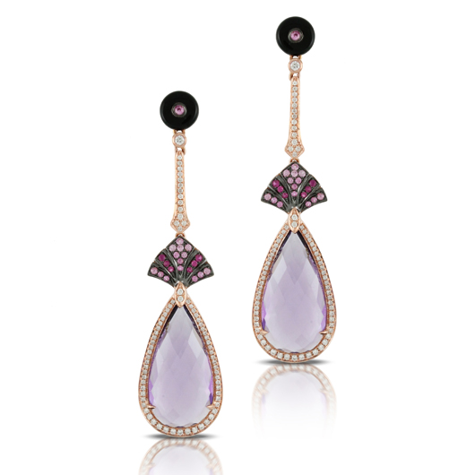 Doves by Doron Paloma earrings worn by Halle Berry to 2014 Emmys