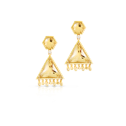 Phillips House fringe earrings in gold