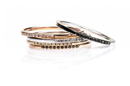 EF Collection diamond bands