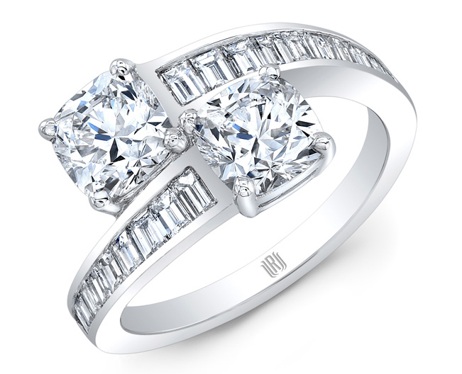 Platinum  Diamond Ring Settings