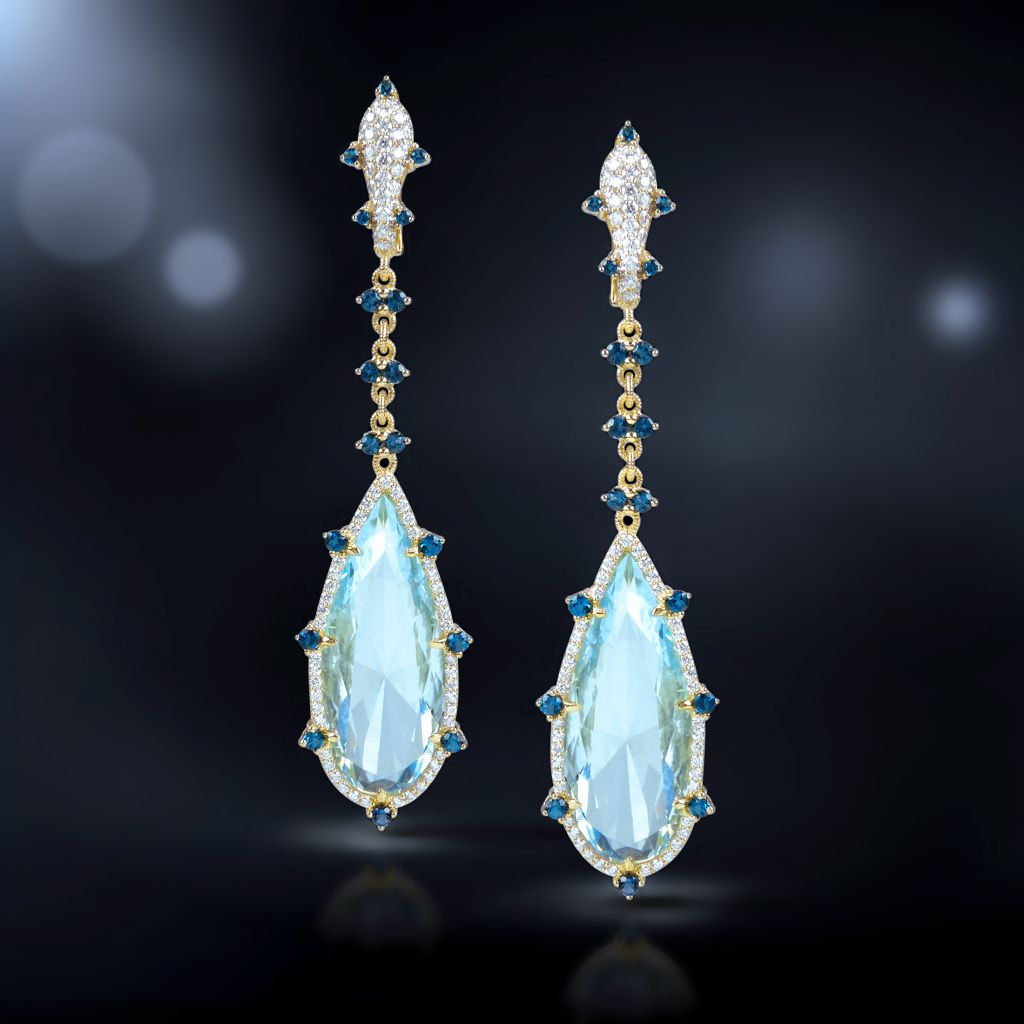 Judith Ripka 2015 collection earrings