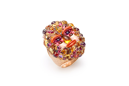 Fall ring from Mattioli's new Arcimboldo collection