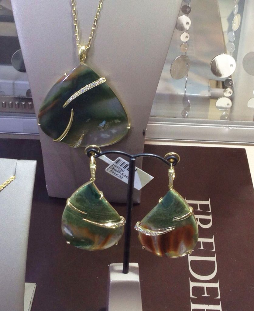 New colored gemstone jewels from Frederic Sage