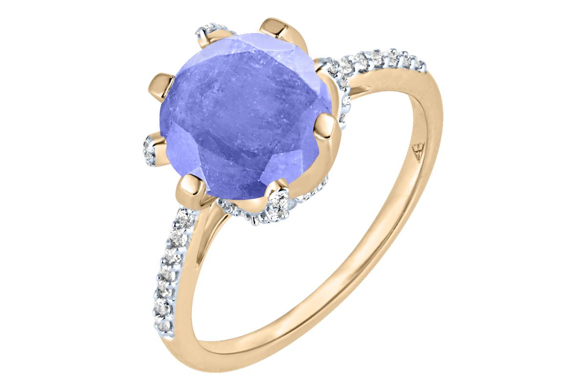 Arya Esha Galaxy collection tanzanite and diamond ring