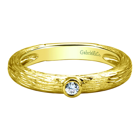 Gabriel & Co. gold ring