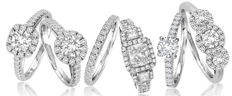 HJ Namdar Forevermark diamond engagement rings