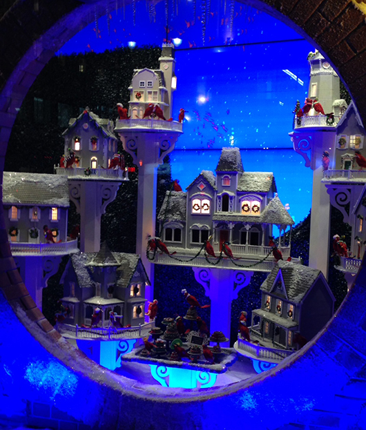 Lord and Taylor 2014 holiday window display