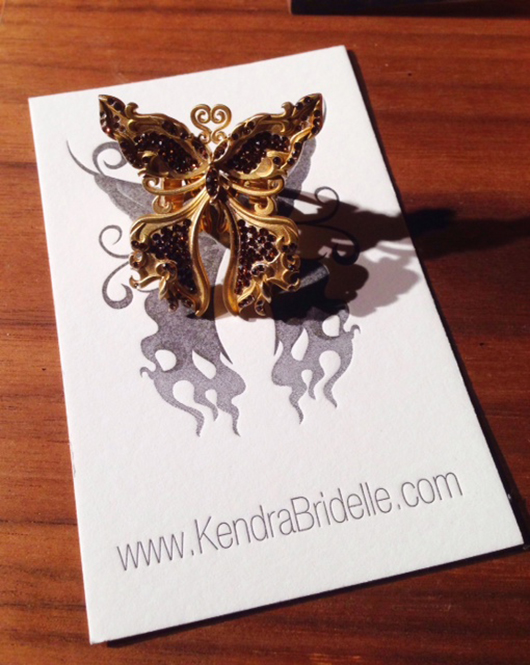Kendra Bridelle's new Wings of Fire jewelry collection