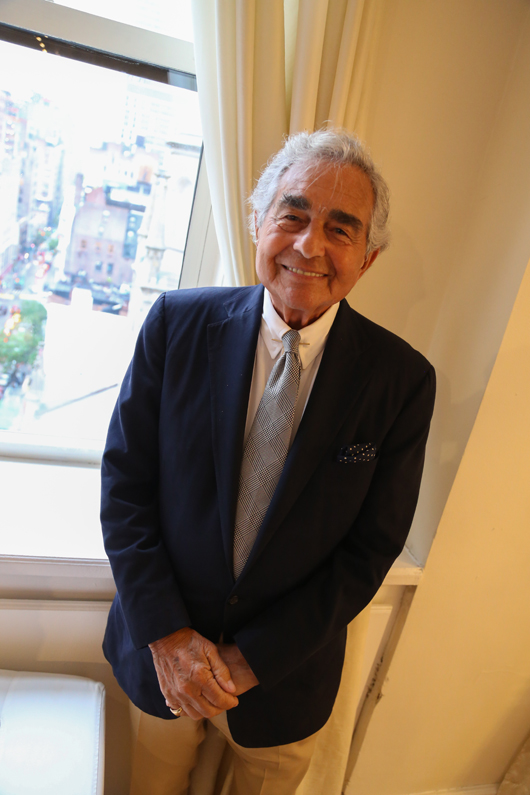 Leonard Lauren of Ralph Lauren was the featured speaker at last week's WJA Jewelry Night Out event
