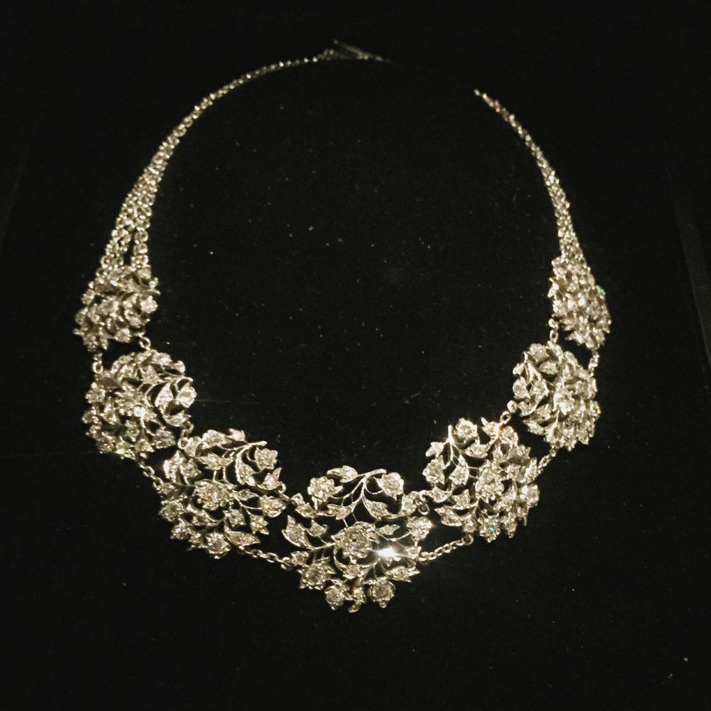 Edith Roosevelt's Harry Winston diamond necklace (copy)