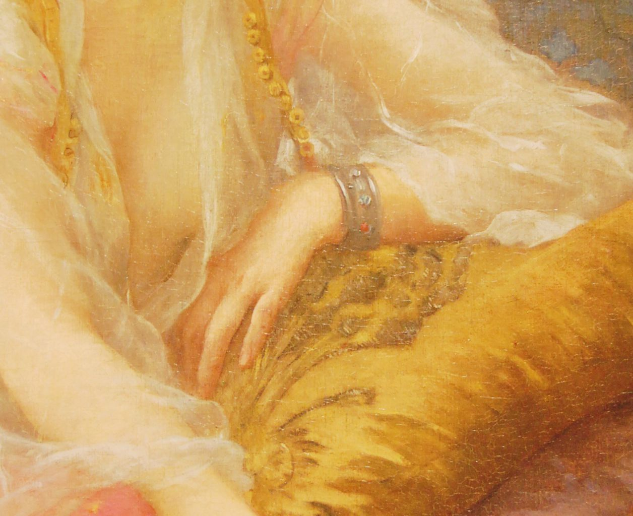 Charles Amable Lenoir (French, 1861-1940) Odalisque