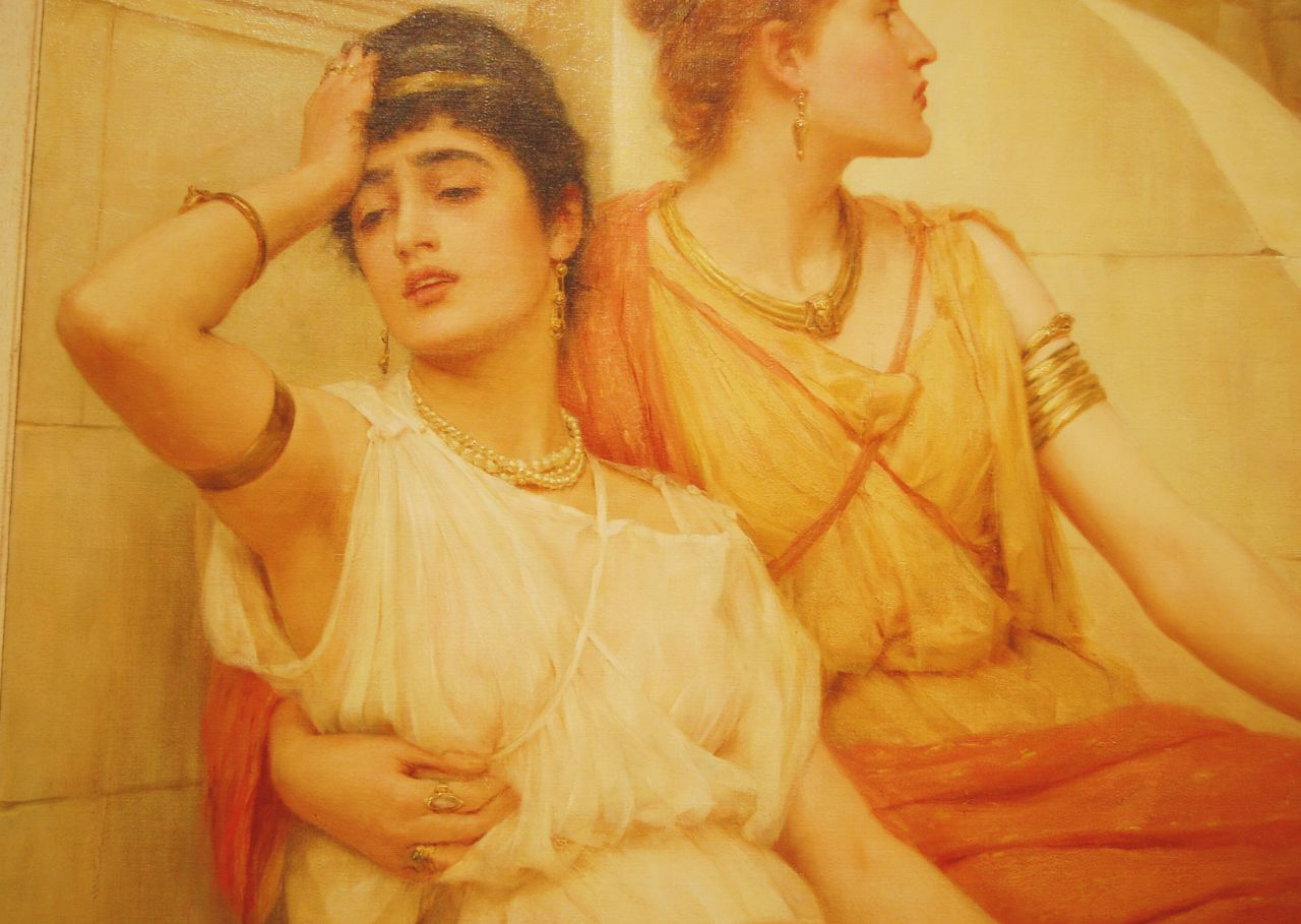Frank Markham Skipworth, A Roman Holiday, 1889