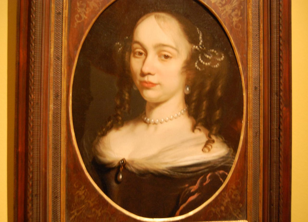 Circle of Nicolaes Maes, Portrait of a Lady