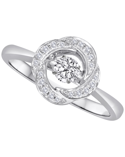 IJO Heart Throb diamond ring