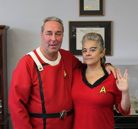 Peter Bazaar of Imperial Pearl as a Star Trek character