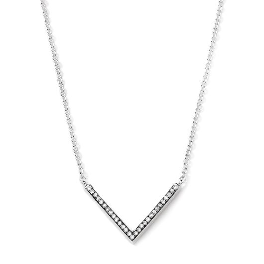 Lollipop sterling silver and diamond pendant; $495; Ippolita, NYC; 877-865-5500; ippolita.com