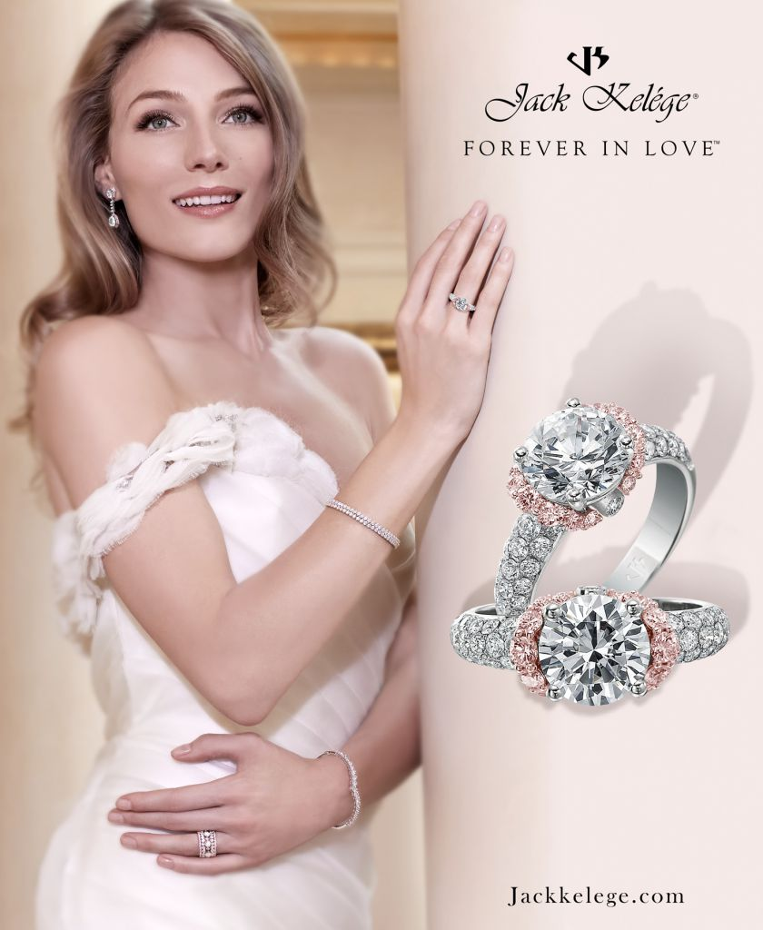 Jack Kelege Forever in Love bridal marketing campaign May 2014