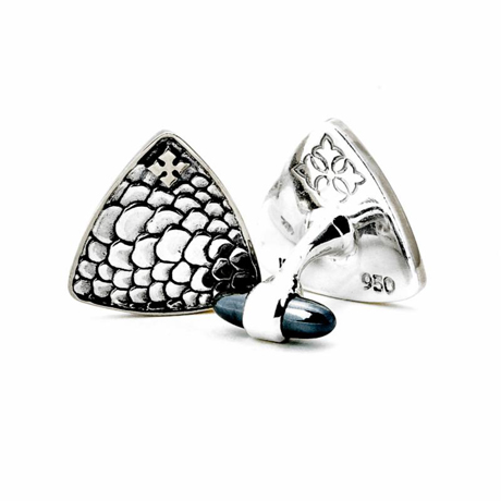 Kir Collection silver cufflinks
