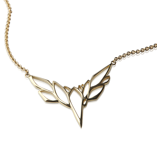 Lisa Kim Fine Jewelry bird necklace