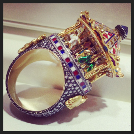 Carousel ring by Lord Jewelry