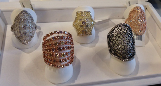 New rings from Sylvie Collection