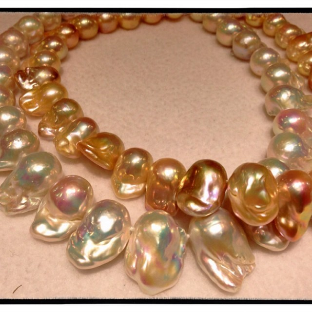 Dragon Curl pearls from Sea Hunt Pearls