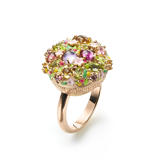 Ring from Mattioli's Little Arcimboldo collection